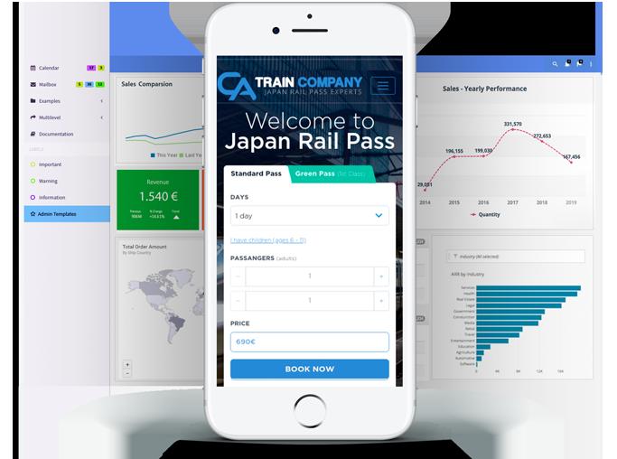 JAPAN RAIL PASS ECOMMERCE